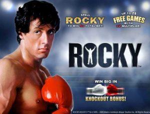 Rocky Free Fruit Machine Game