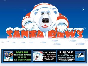 Santa Paws Free Slot Machine Game