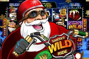 Santas Wild Ride Free Fruit Machine Game