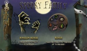 Spooky Family Free Slot Machine Game