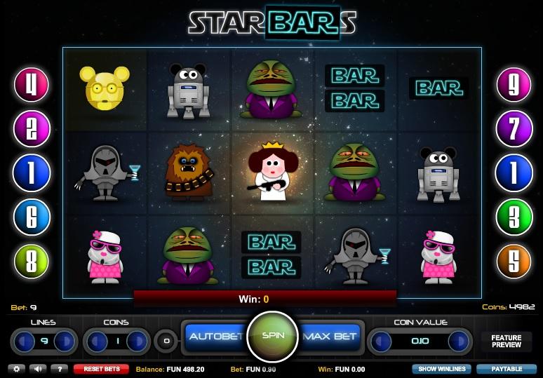 Starbars Free Slot Machine Game