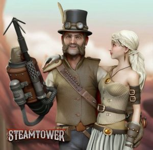 Steam Tower Free Slot Machine Game