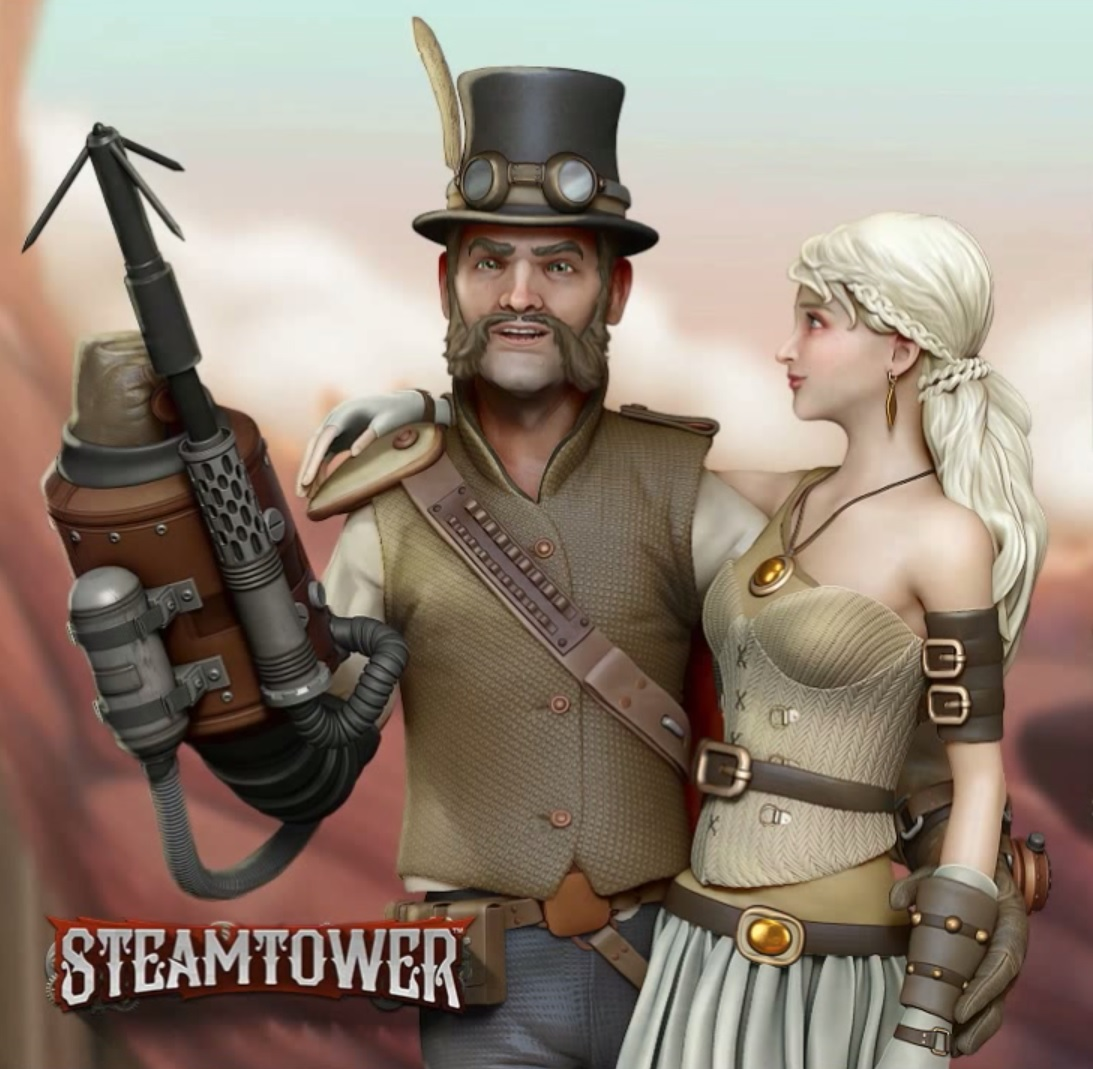 Steam Tower Free Slot Machine Game
