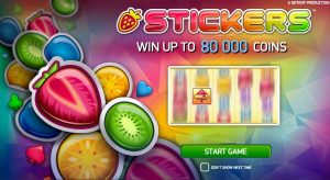 Stickers Slot Machine Game