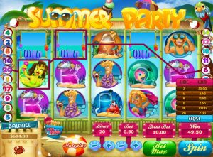 Summer Party Online Slot Game