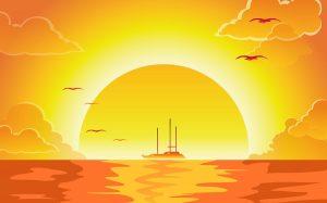 Sun Tide Free Slot Machine Game