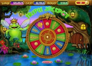 Super Lucky Frog Slot Machine Game