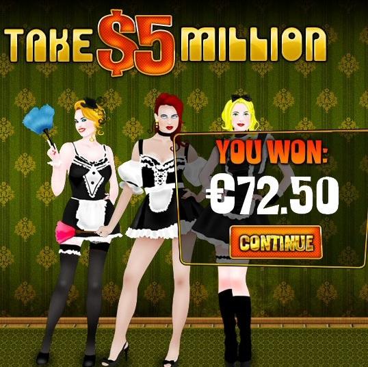 Take 5 Million Fruit Machine Game