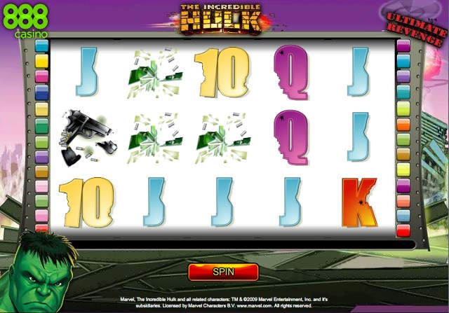 The Incredible Hulk Online Slot Game