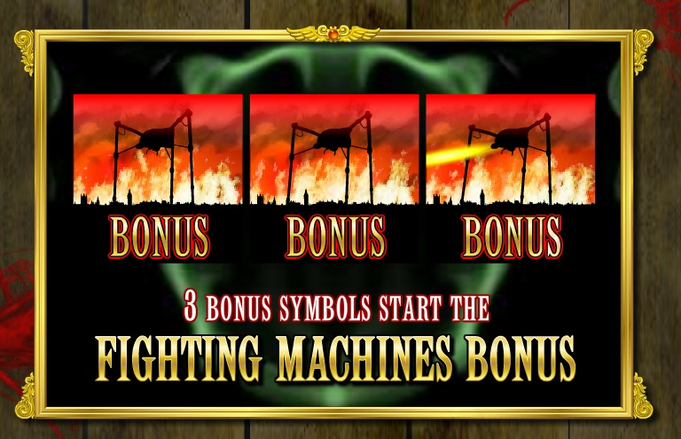 The War of The Worlds Online Slot Game