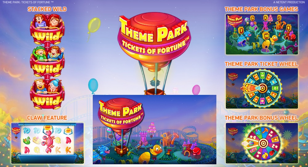50 Free Spins On Theme Park Tickets Of Fortune In The NetEnt Live Casino Theme Park Promo