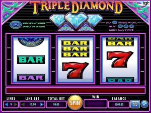 Triple Diamond Free Slot Machine Game