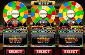 Triple Inferno Online Slot Game
