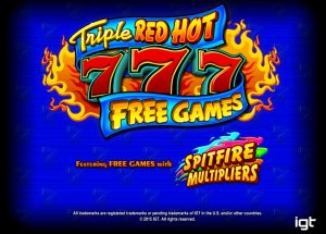 Triple Red Hot 7s Free Slot Machine Game
