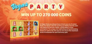 Vegas Party Online Slot Game