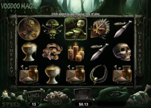 Voodoo Magic Online Free Slot Game