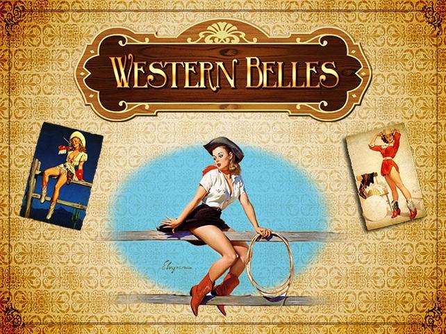 Western Belles Free Slot Machine Game