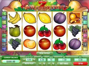 Wild Sevens Online Slot Game