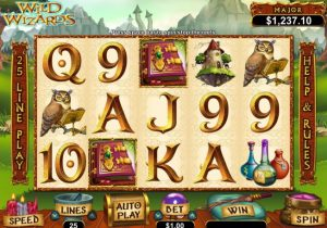 Wild Wizards Free Slot Machine Game