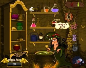 Witches Cauldron Online Slot Game