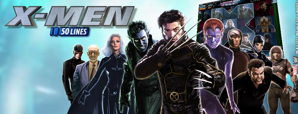 X-Men 50 Lines Online Slot Game