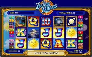 Zodiac Zillions Online Slot Game