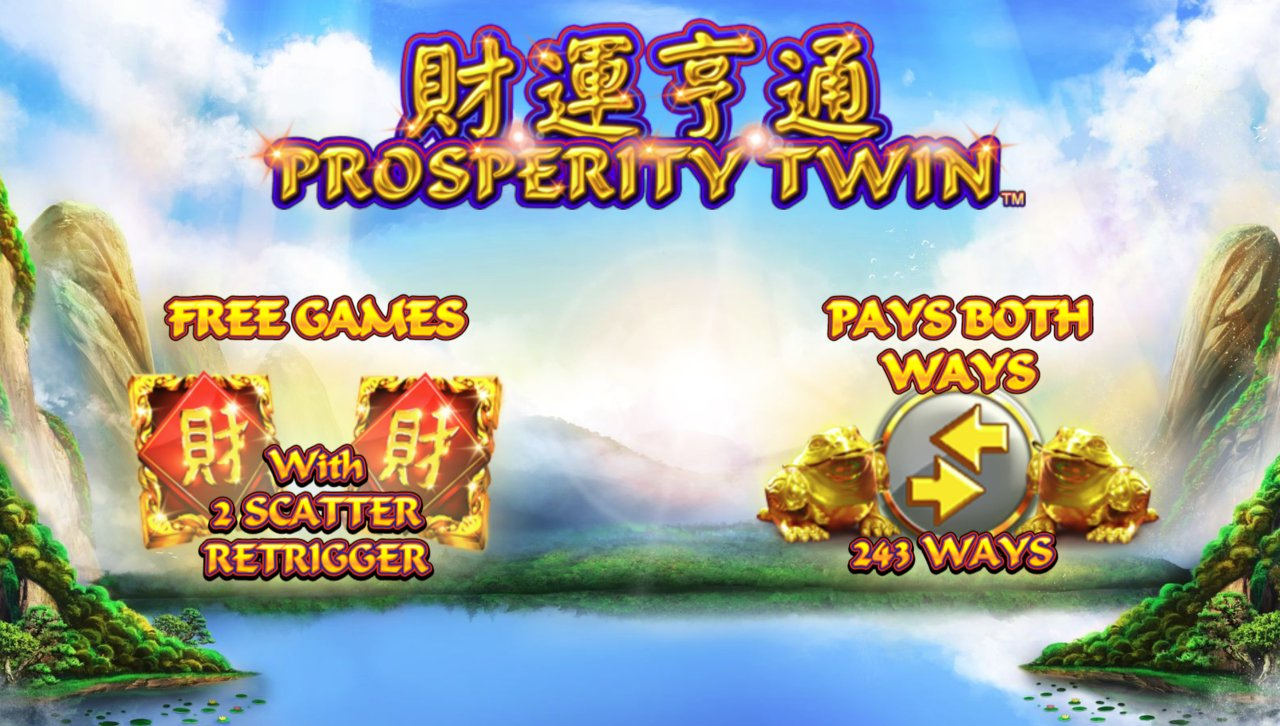 Prosperity Twin Slot Machine