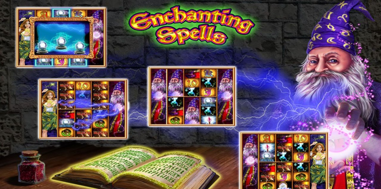 Enchanting Spells Slot Machine - Play for Free Instantly Online