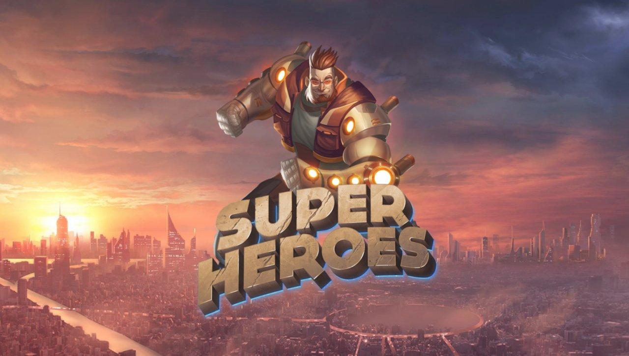 Super Heroes Slot Machine