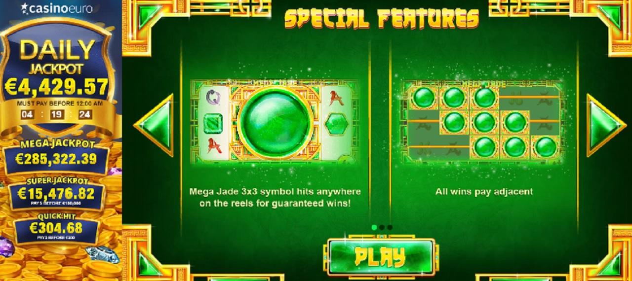 Mega Jade Slot Machine