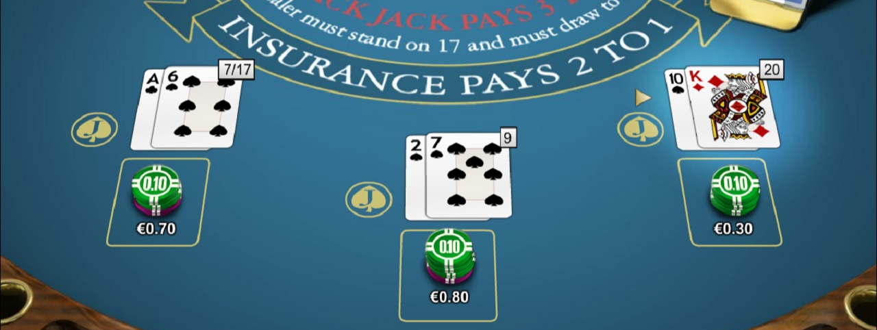 Blackjack Double Jack