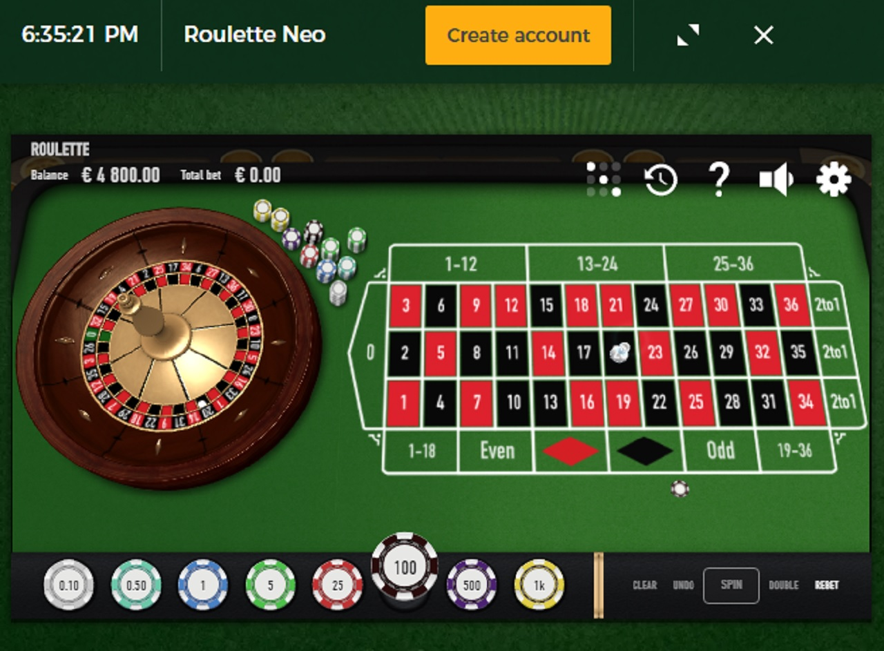 Roulette Neo