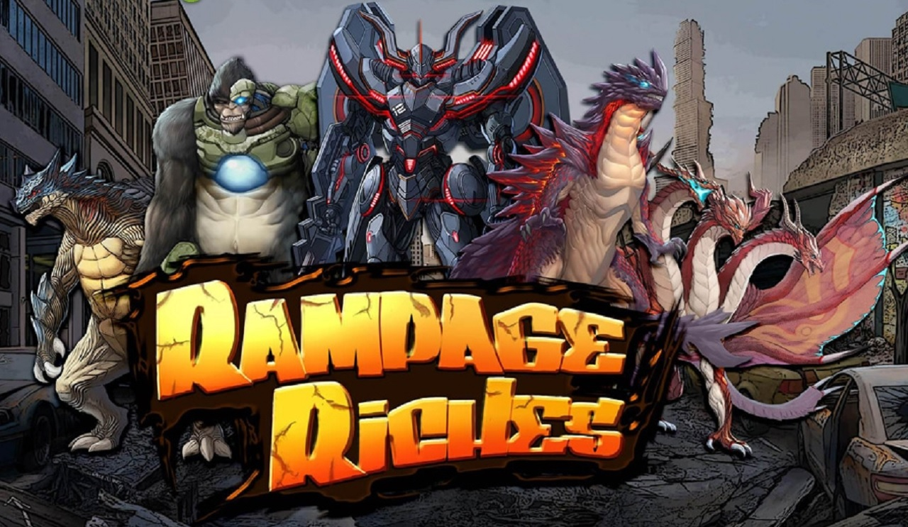 King of Kaiju Rampage Riches