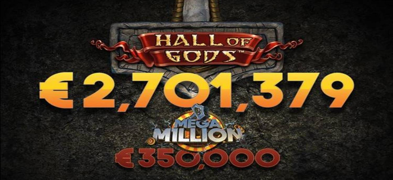 NetEnt creates yet another millionaire for the third time in this month
