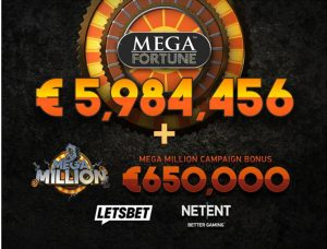 Yet Another Hatrick Of €6.63m From NetEnt's Mega Fortune Campaign