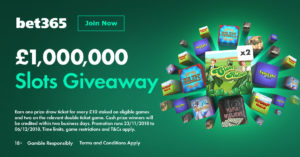 Million Pound Slots Giveaway Promotion is here again