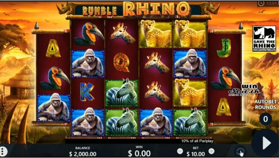 Spiele Rumble Rhino - Video Slots Online