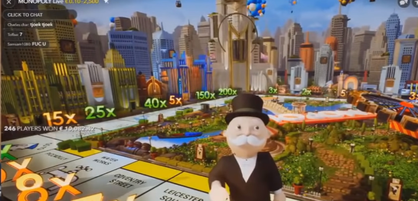 Live casino brings Monopoly