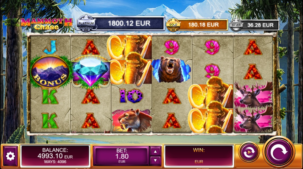 Spiele Mammoth Chase - Video Slots Online