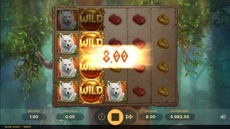 Druid's Dream slot is taking it easy