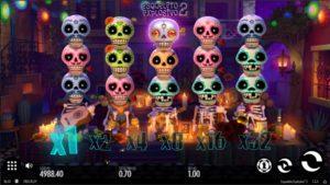 Esqueleto Explosivo 2 slot is taking death to the next level