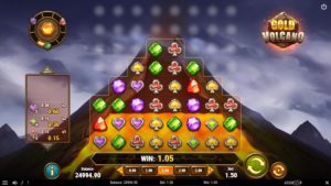 Gold Volcano slot has some dangerous game features