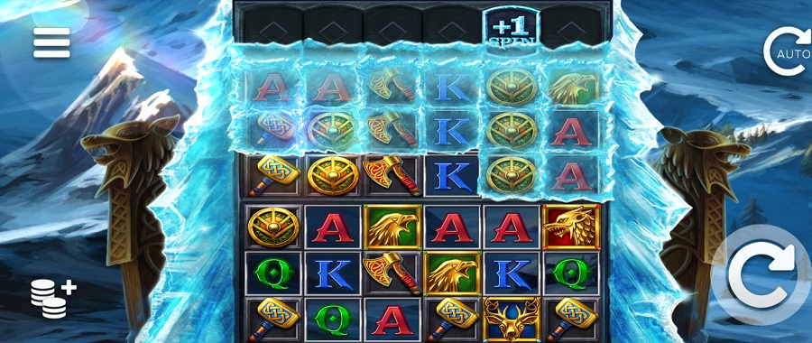 Ice Wolf slot expands up to 6  lines