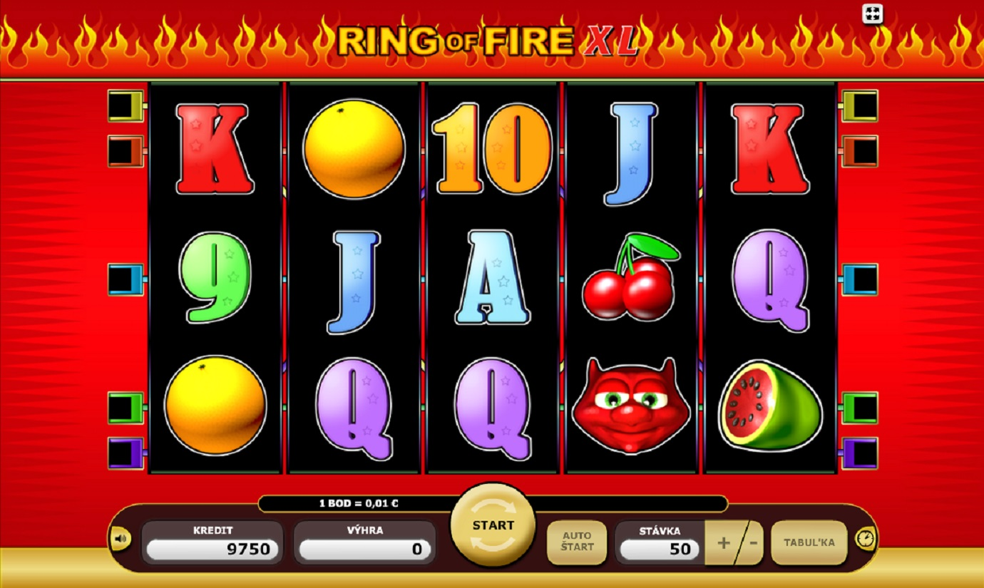 Ring of Fire XL slot - when average rules the scene